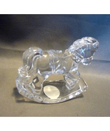 "Retired Princess House Rocking ""Crystal Treasures"" Randy the Rocking Horse - $9.99"