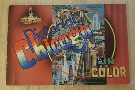 Pictorial Chicago In Color 1949 Souvenir Booklet Curt Teich and Co - $9.50
