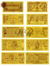 5PCS Special Australia Pound Note Set Ned Kelly Outlaw Legend 24k Gold B... - $16.70