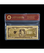 US America $1BILLION Dollar Bill Gold Banknote 99.9 Gold Polyester Note ... - $5.00