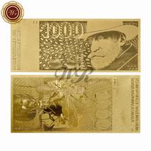 Switzerland 1000 1,000 Francs 24k Gold Banknote 1984 Augusta Brain / Ner... - $4.50