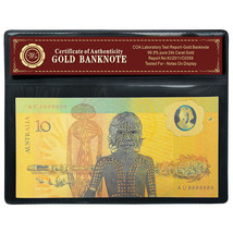 Bicentennial AUSTRALIA 1988 Polymer Banknote Colored $10 Commemorative G... - $5.00