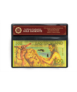 Easter Island Colored 500 Rongo 24k Gold Bankno... - €5,15 EUR