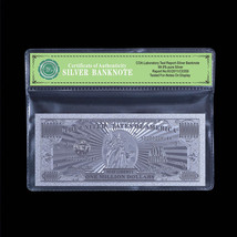 999 Fine Silver One Million U.S Banknote Fancy Christmas Gift New For Co... - $5.00