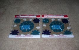 Holiday Time Snowflake Gel Clings (2 packs).  - $7.00