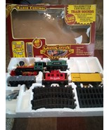 EZTEC GRAND CANYON EXPRESS G GAUGE TRAIN SET--RADIO CONTROLLED-#36912---VGC - $42.48