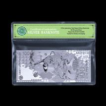WR Russia 2014 Sochi Olympics Souvenir 100 Rubles Silver Foil Banknote P... - $5.36