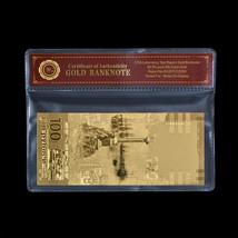 WR Russia 100 Rubles 2015 Commemorative Reunion Crimea Sevastopol Gold B... - $5.13