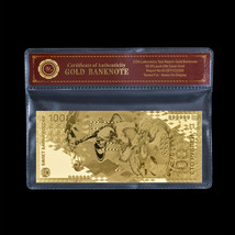 WR 100 Rubles of Russia SOCHI Olympic Games 2014 24k Gold Foil Banknote ... - $5.36