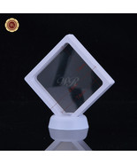"WR 3.5x3.5"" Square Coin & Bar Collection Protect Case Display Frame 3D F... - $7.52"