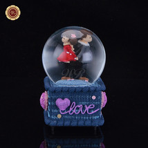 WR Gifts for the New Year valentine's day gifts Musical Snow Globe Snowd... - $20.36