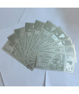 10x Zimbabwe Polymer Notes 100 Trillion Dollars Silver Banknote Money Co... - $26.04