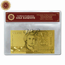 Croatia 10000 Dinars Banknote Pure 24k Gold Plated Note Nice Collectible... - $5.36