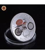 Rare Motorcycle Souvenir Coin Plated with 24k Silver Bultaco Astro Model... - $5.00