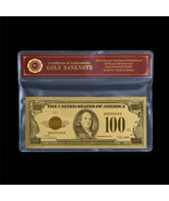 1928 Gold Certificate $100 One Hundred Dollars 24k Fine Gold Plated US B... - $5.00