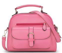 Simple Women Leather Shoulder Bags Medium Fashion Messenger Bags Bags K3... - $38.99