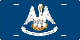 Louisiana Flag Personalized Custom Novelty Tag Vehicle Car Auto Motorcyc... - $16.75