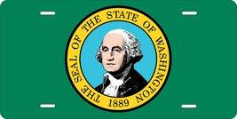 Washington Flag Personalized Custom Novelty Tag Vehicle Car Auto Motorcy... - $16.75