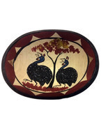 BEAUTIFUL HAND PAINTED BOWL, INCL SHIPPING - $48.00