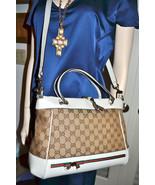 New $1470 Authentic GUCCI Monogram Handbag Cros... - $949.92