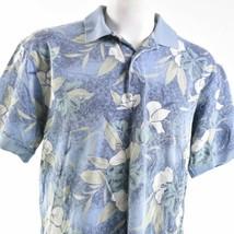 Izod Hawaiian Floral Hibiscus Large Polo Shirt - $17.81