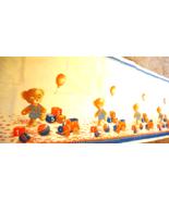 Soviet Vintage Teddy Bear Waffle Towel Baby Bath Kids Fabric Home Decor ... - $35.00