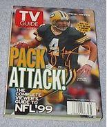 TV Guide Magazine September 1999 Green Bay Packers Brett Favre - $9.95