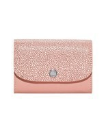 NEW Michael Kors Pale Pink Embossed Juliana 3-i... - $77.22