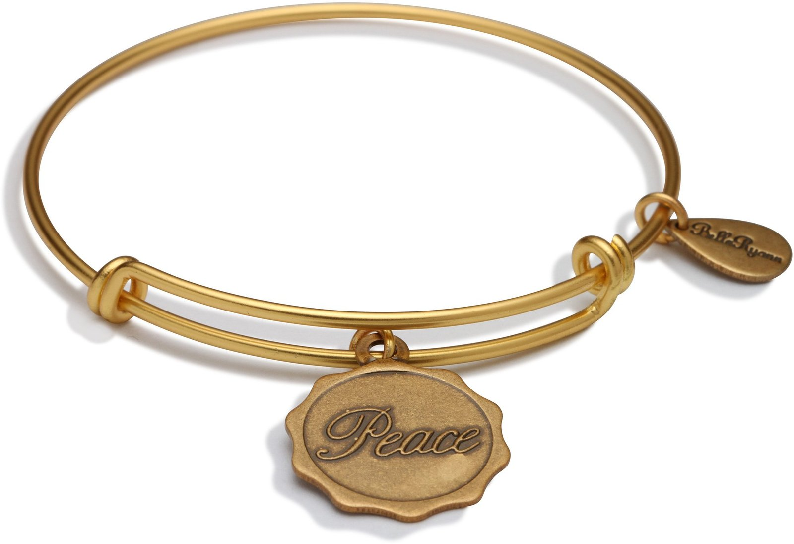 Bella Ryann Gold Peace Bangle 10611