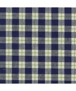 Longaberger Blue Ribbon Plaid Cotton Fabric Napkins Set Of 2 New In Bag ... - $11.83