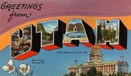 Greetings From Utah Magnet - $7.99