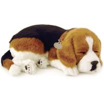 Perfect Petzzz Beagle Breathing Puppy Dog Plush... - $39.98