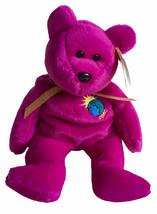 Beanie Baby Millennium 8 Inch Stuffed Plush Bear (Error Spelling) 1999 TY - $14.01
