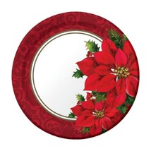 "24 pcs Creative Converting Sturdy  Paper Luncheon Plates, 9"" Christmastime - $7.91"
