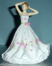 Royal Doulton DAWN Pretty Ladies Figurine Petites Hand Signed HN5663 New! - $145.90