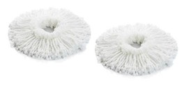 2 Replacement Heads Spin Mop Spinning Magic As Seen On TV 2 Heads Free S... - $12.86