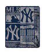"NY Yankees Fleece Blanket 50"" x 60  Licensed Th... - $24.25"