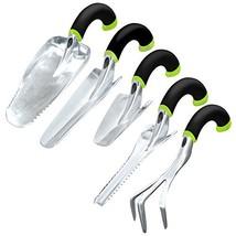 Radius Garden 30502 Ergonomic Garden Hand Tool Set, Green (Green) - $74.02