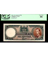 """FIJI P37i  5 Shillings PCGS 66 """"KING GEORGE VIth"""" 1949 FINEST KNOWN BY A... - $3,950.00"""