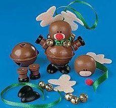 Jingle Bell REINDEER Christmas Ornament Craft Kit  - $2.50
