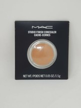 New Authentic Mac Studio Finish Concealer Pro Palette Refill  0.05oz/1.5g NC40 - $18.69