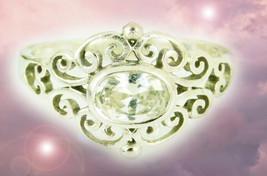HAUNTED RING 7000x BEAUTY OF THE WORLD MYSTICAL TREASURE RARE MAGICK SCHOLARS   - $337.77