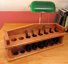 Twice on Sunday Mantel Pipe Rack Plan - Build Your Own 8 Pipe Rack Easy ... - $12.95