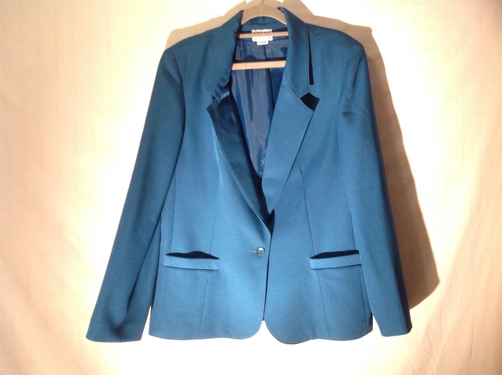 Solos by Koret Sea Blue Green Blazer Jacket
