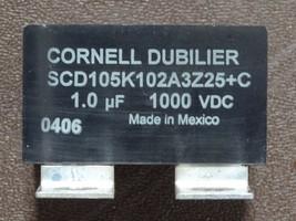 Cornell Dubilier SCD105K102A3Z25 C IGBT Module 1000V - $9.89