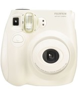 Fujifilm Instax Mini 7s Instant Film Camera (White) - $37.61