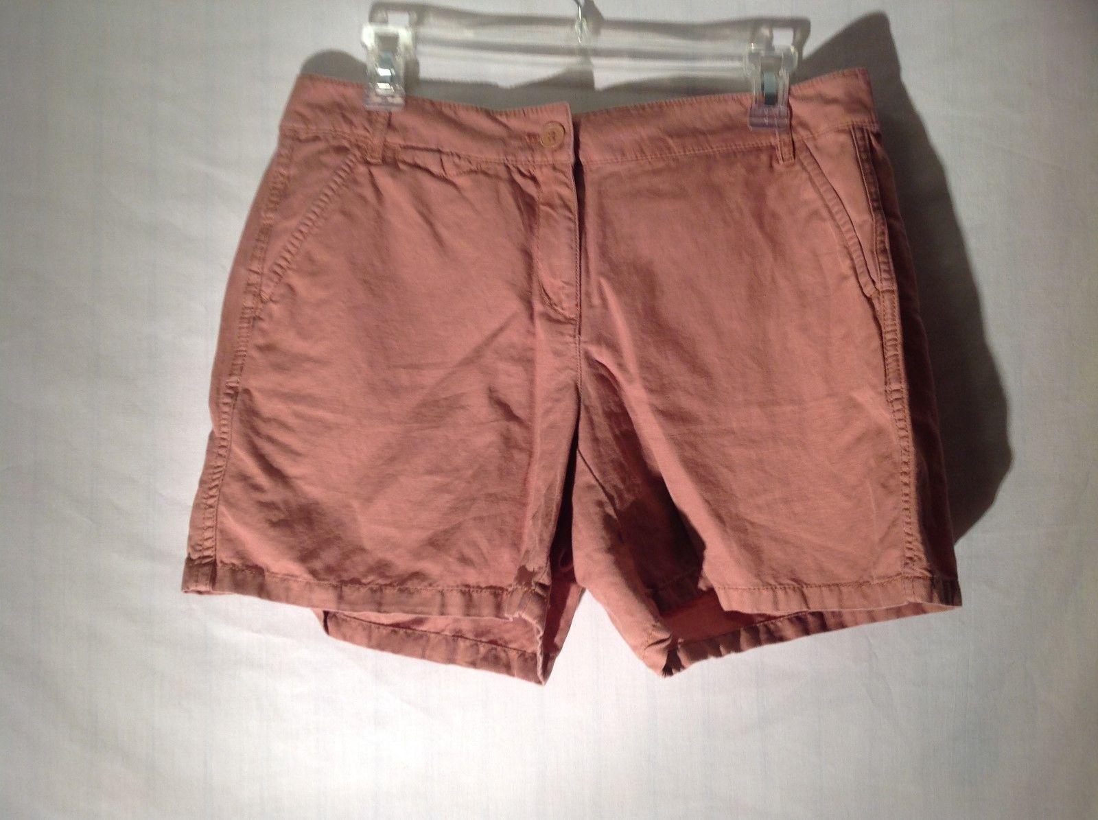 Ann Taylor LOFT Salmon Color Shorts Size 6