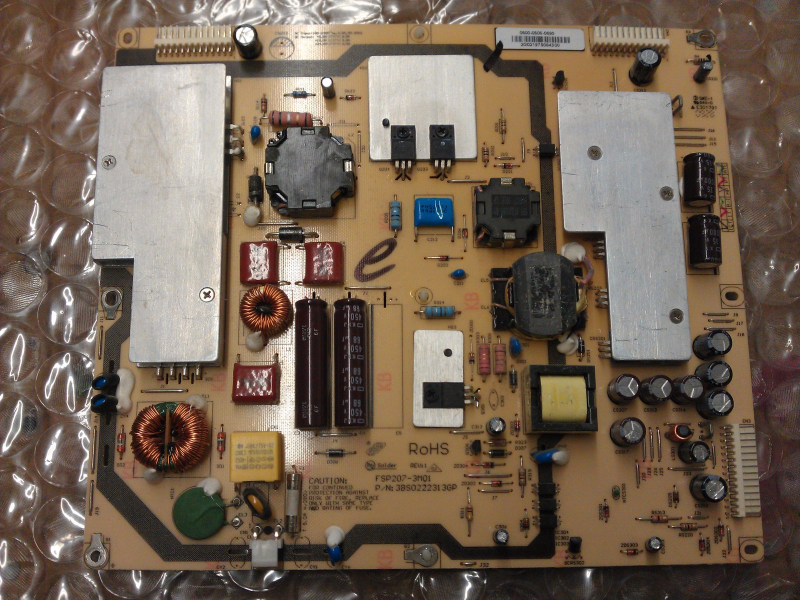 0500-0505-0690 Power Supply Board From Vizio SV370XVT LCD TV