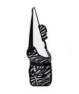 ZEBRA Stripe  Messenger Sling Body Bag Backpack... - $15.83