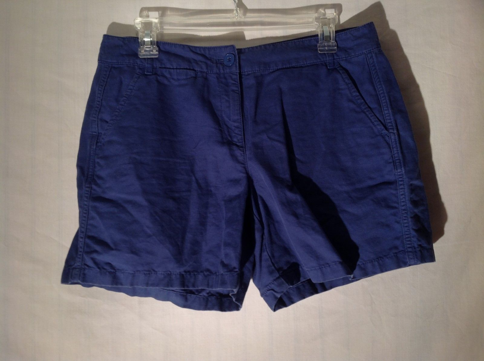 Ann Taylor LOFT Deep Blue Colored Shorts Size 6